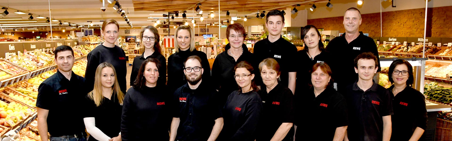Team von REWE Dettling in Bad Schussenried